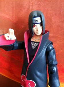 Naruto Shippuden Itachi Action Figure Using Genjutsu