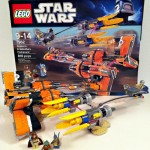 LEGO 7962 Anakin and Sebulba&#039;s Podracers