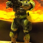 Spartan GUNGNIR Custom Olive Halo Reach Series 5 Figure