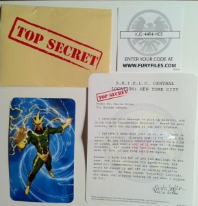 Fury Files Electro Variant Translucent Arms Variant Marvel Universe Action Figure