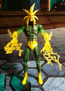 Electro Variant Translucent Arms Variant Marvel Universe Action Figure
