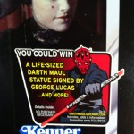Darth Maul Contest Sticker Offer Vintage Collection