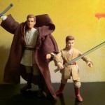 Phantom Menace Episode I Obi-Wan and Anakin Skywalker Padawn VC80 Vintage