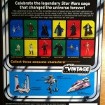 Anakin Skywalker Padawn VC80 Vintage Collection Action Figure Cardback