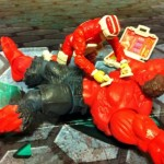 Red Hulk's life is saved by the Lifeline G.I. Joe 2012 30th Anniversary Action Figure