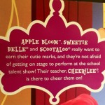 Box Description from My Little Pony Pony School Pals Set Cutie Mark Crusaders
