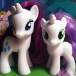 My Little Pony Rarity and Sweetie Belle Toys 2012 Hasbro