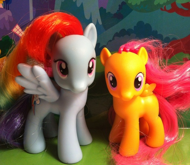 Toy Review The Cutie Mark Crusaders My Little Pony Friendship Is Magic 2012 Toy Review Daily She first appears in friendship is magic, part 1, and she is later properly introduced in call of the cutie. toy review daily