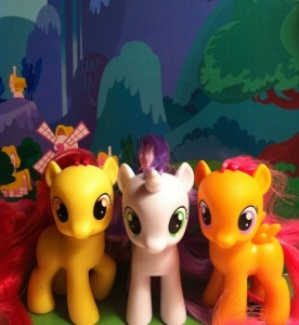 Cutie Mark Crusaders Toys My Little Pony