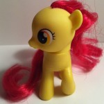 My Little Pony Apple Bloom Toy Front from Pony School Pals Set G4 2012