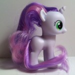 My Little Pony Sweetie Belle Toy Right Side from Pony School Pals Set G4 2012