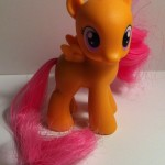 My Little Pony Scootaloo Toy Side from Pony School Pals Set G4 2012