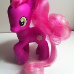My Little Pony Cheerilee Toy Left Side from Pony School Pals Set G4 2012
