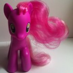 My Little Pony Cheerilee Toy Front from Pony School Pals Set G4 2012