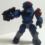 Halo Mega Bloks Grenadier Spartan Figure from Revenant Assault Set