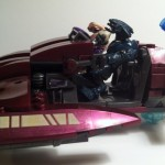 AWFUL DEFECTIVE PEELING STICKERS!!! Halo Mega Bloks Revenant