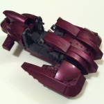 Halo Mega Bloks Revenant Partially Assembled #96982 2012