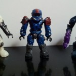 Halo Mini Figures from Halo Mega Bloks Revenant Assault