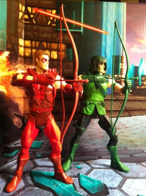 Green Arrow Arrow Green Arrow Red Arrow Action