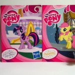 Twilight Sparkle and Fluttershy My Little Pony Blind Bags Series 1 Kiosk Ponies