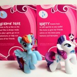Rainbow Dash and Rarity My Little Pony Blind Bags Series 1 Kiosk Ponies