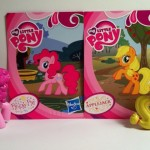 Pinkie Pie and Applejack My Little Pony Blind Bags Series 1 Kiosk Ponies