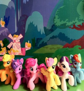 My Little Pony Blind Bags Series 1 Mane Six Ponies