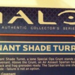 Halo Mega Bloks Covenant Shade Turret 96949 Set Description