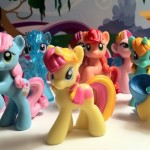 My Little Pony Blind Bag Series 1 Lineup of Ponies