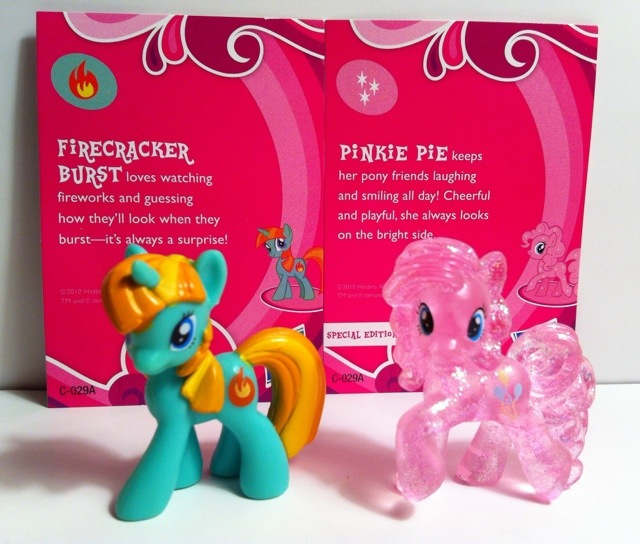 Firecracker Burst and Special Edition Pinky Pie My Little Pony Blind Bag Series 1