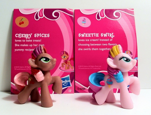 Cherry Spices and Sweetie Swirl My Little Pony Blind Bag Series 1