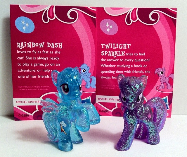 Special Edition Rainbow Dash and Twilight Sparkle My Little Pony Blind Bag Series 1