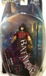 Robin Batman Arkham City DC Direct Action Figure Packaged