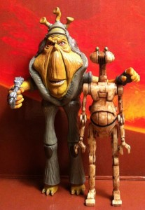 Ben Quadinaros & Otoga-222 Droid Vintage Collection Star Wars Action Figure VC81