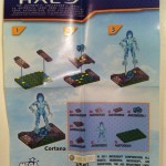 Instructions Cortana Halo Mega Bloks 2012 Figure Blind Bagged Hero Pack