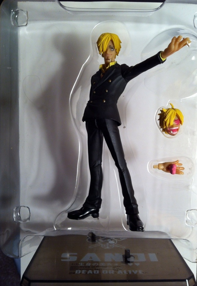 Toy Review Sanji One Piece Figuarts Zero Action Figure Toy Review Daily