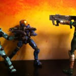 Marvel Legends Hope vs. Halo Spartans in Slayer!