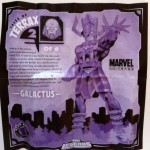 Tales of Terrax Insert 6 of 6 Galactus from Hope Summers Marvel Legends Series 1 Figure