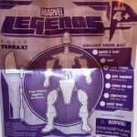 Terrax Build-A-Figure Instructions from Steve Rogers Super Soldier Marvel Legends 2012 Series 1 Variant Action Figure Hasbro