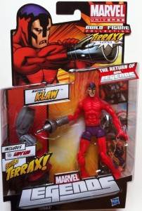 Packaged Marvel Legends Klaw 2012 Series 1 Action Figure