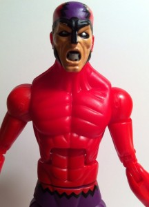 Close-Up of Marvel Legends Klaw 2012 Series 1 Action Figure