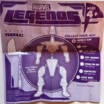 Terrax Build-A-Figure Assembly Instructions Insert from Klaw Marvel Legends 2012 Series 1 Action Figure