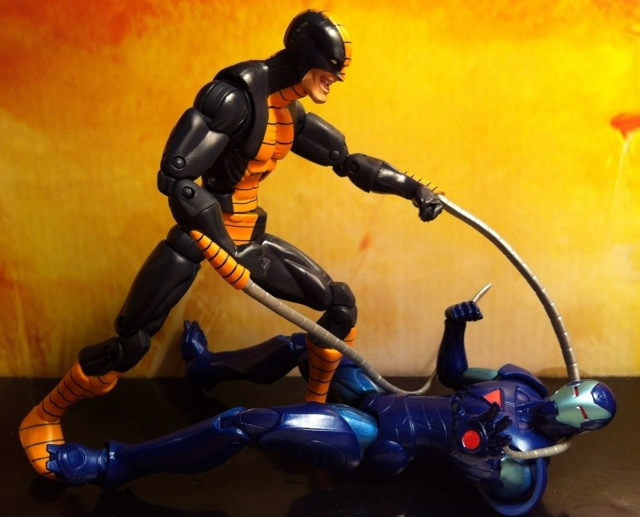 Stealth Extremis Iron Man vs. Constrictor Marvel Legends Series 1 Action Figure 2012 Hasbro