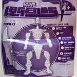Terrax Assembly Instructions Insert from Constrictor Marvel Legends Series 1 Action Figure 2012 Hasbro