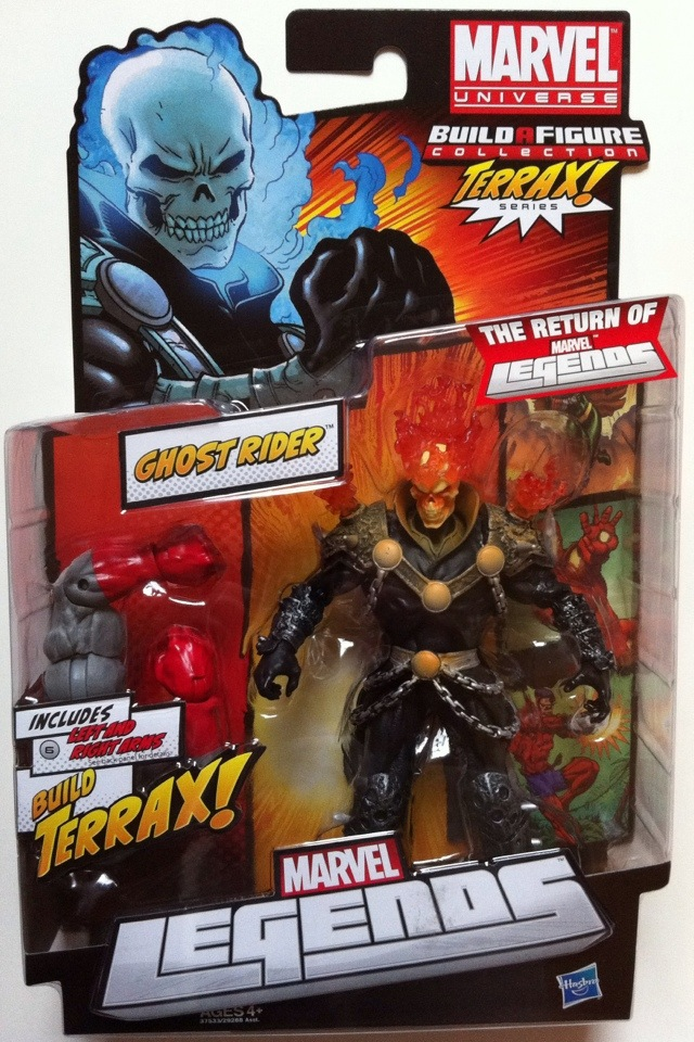 Marvel Legends Ghost Rider Terrax Ghost Rider Marvel Legends