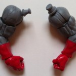 Terrax Build-A-Figure Arms Parts Pieces from Ghost Rider Marvel Legends 2012 Series 1 Action Figure