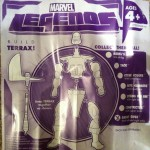 Terrax Build-A-Figure Assembly Instructions Insert from Ghost Rider Marvel Legends 2012 Series 1 Action Figure