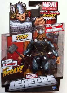Packaged Marvel Legends Thor 2012 Action Figure Hasbro