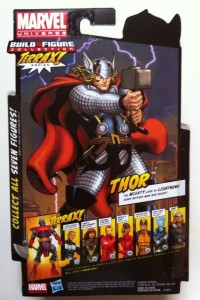 Cardback Marvel Legends Thor 2012 Action Figure Hasbro