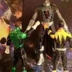 Sinestro and Green Lantern vs. DC Universe Classics Nekron Series 20 Build-A-Figure Action Figure DCUC